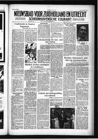 Schoonhovensche Courant 1955-07-18