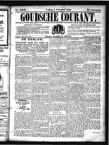 Goudsche Courant 1918-11-01