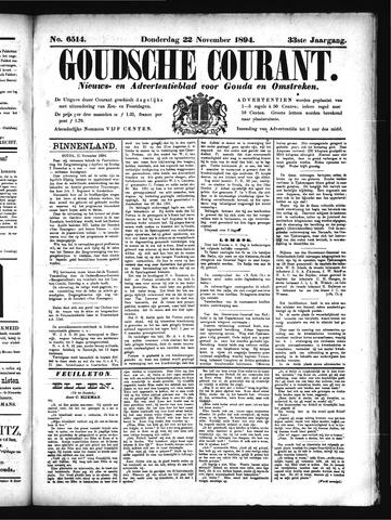 Goudsche Courant 1894-11-22
