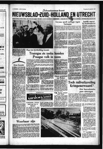 Schoonhovensche Courant 1969-08-20