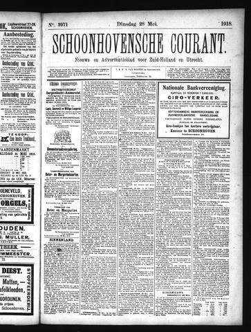 Schoonhovensche Courant 1918-05-28