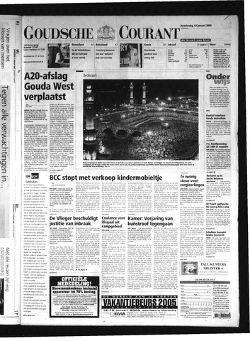 Goudsche Courant 2005-01-13