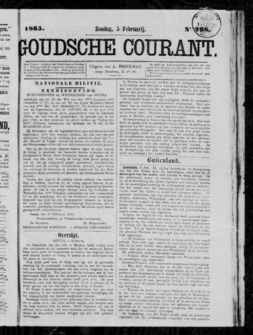 Goudsche Courant 1865-02-05