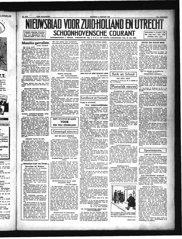 Schoonhovensche Courant 1942-01-05