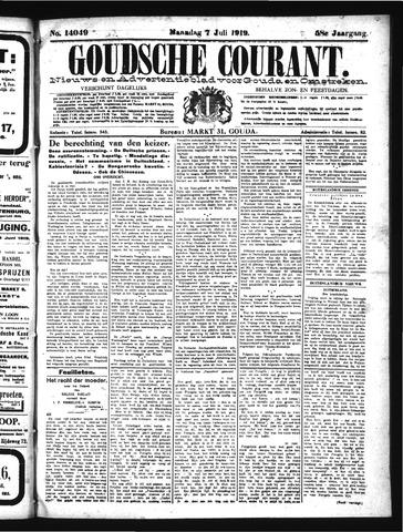 Goudsche Courant 1919-07-07