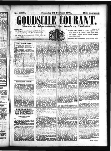 Goudsche Courant 1909-02-24