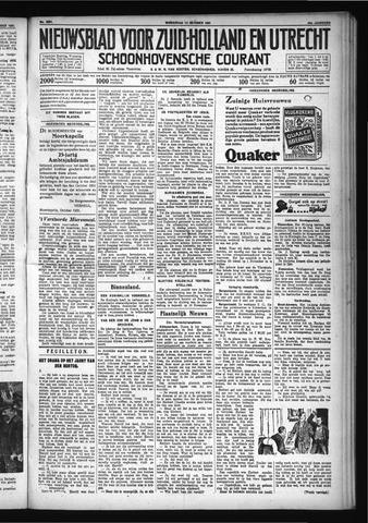Schoonhovensche Courant 1931-10-14