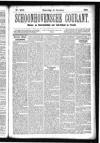 Schoonhovensche Courant 1904-10-15
