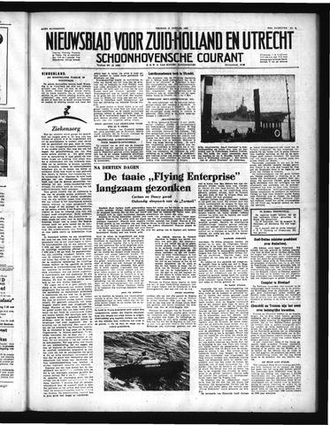 Schoonhovensche Courant 1952-01-11