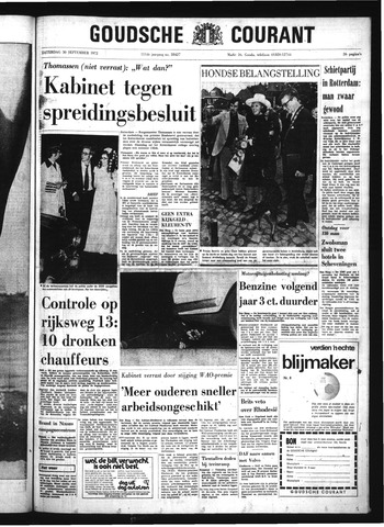 Goudsche Courant 1972-09-30