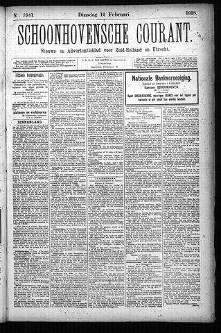 Schoonhovensche Courant 1918-02-12