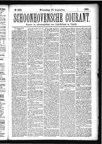 Schoonhovensche Courant 1893-08-23