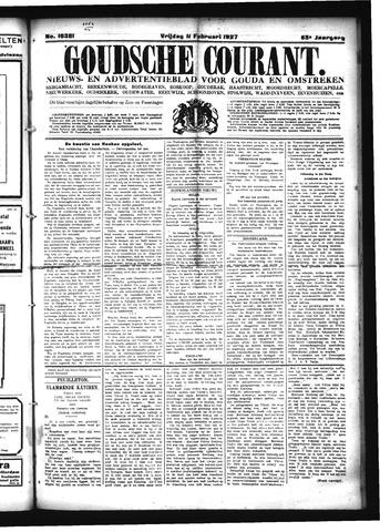 Goudsche Courant 1927-02-11