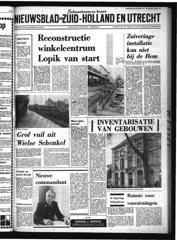Schoonhovensche Courant 1977-10-26
