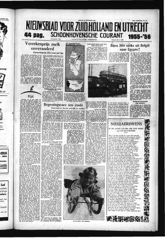 Schoonhovensche Courant 1955-12-30