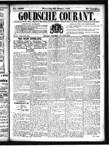 Goudsche Courant 1919-01-22