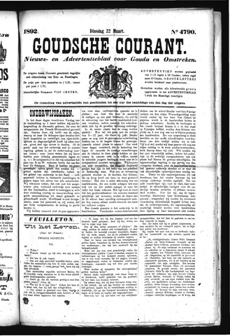 Goudsche Courant 1892-03-22
