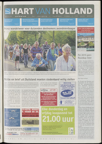Hart van Holland - Editie Zuidplas 2013-06-19