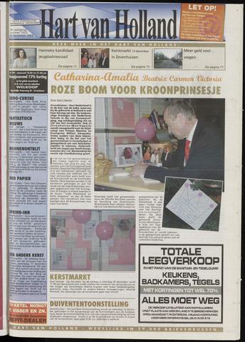 Hart van Holland 2003-12-10