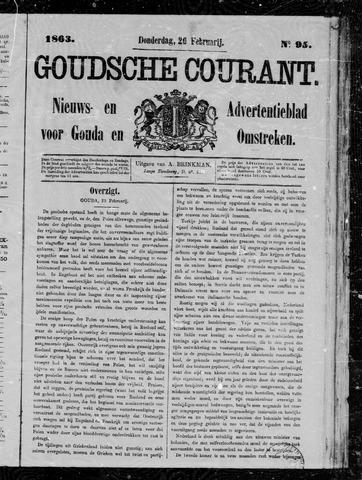 Goudsche Courant 1863-02-26