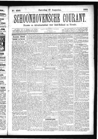 Schoonhovensche Courant 1910-08-27