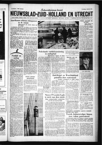 Schoonhovensche Courant 1961-02-01