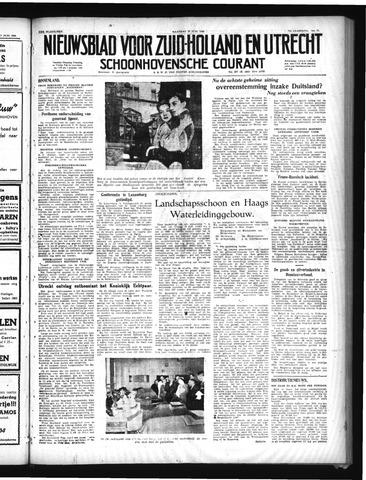 Schoonhovensche Courant 1949-06-20