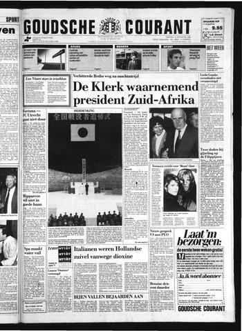 Goudsche Courant 1989-08-15