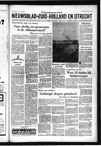 Schoonhovensche Courant 1970-02-25