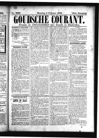 Goudsche Courant 1903-02-02