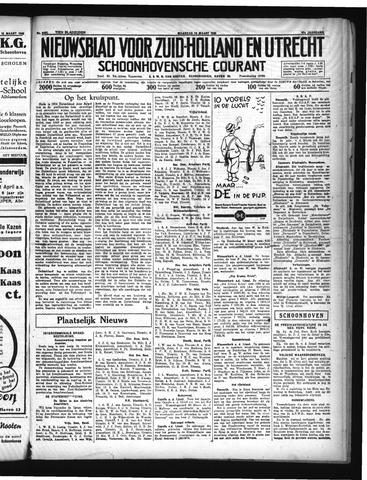 Schoonhovensche Courant 1935-03-18