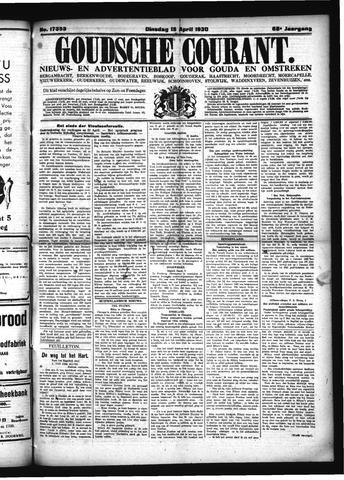 Goudsche Courant 1930-04-15