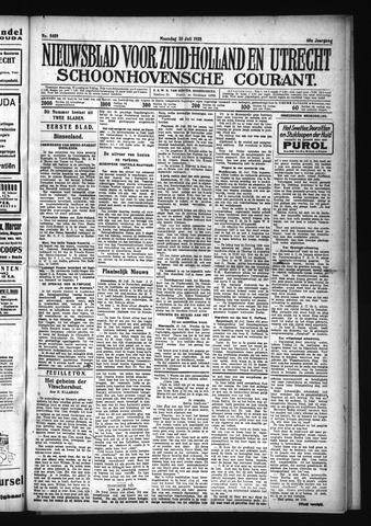 Schoonhovensche Courant 1928-07-30