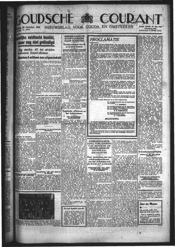 Goudsche Courant 1941-10-28
