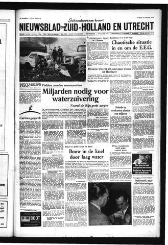 Schoonhovensche Courant 1969-10-24