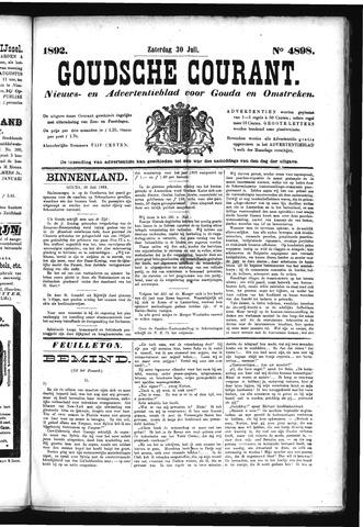 Goudsche Courant 1892-07-30