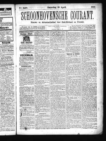 Schoonhovensche Courant 1913-04-19