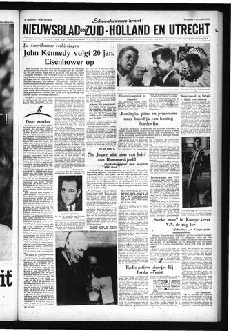 Schoonhovensche Courant 1960-11-09