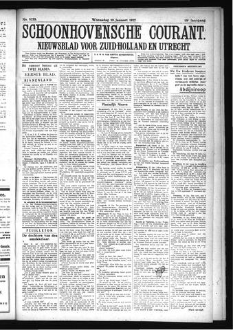 Schoonhovensche Courant 1927-01-19