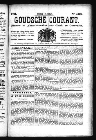 Goudsche Courant 1891-01-13