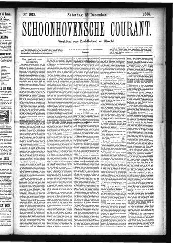 Schoonhovensche Courant 1888-12-15