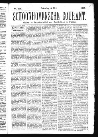 Schoonhovensche Courant 1905-05-06