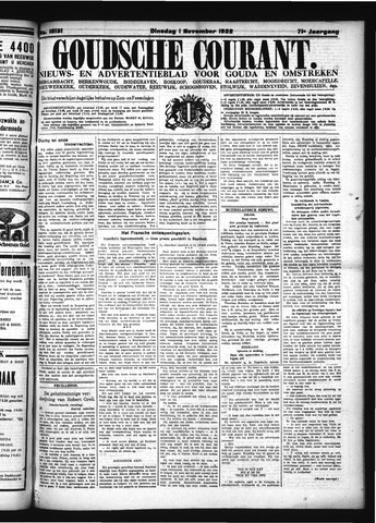 Goudsche Courant 1932-11-01