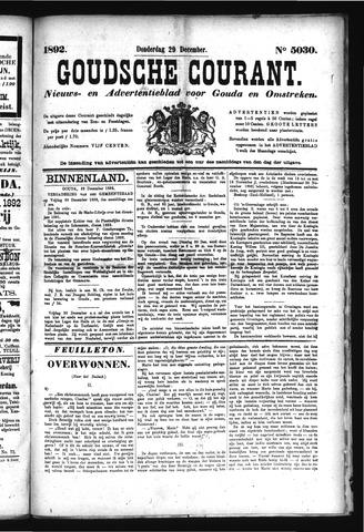 Goudsche Courant 1892-12-29