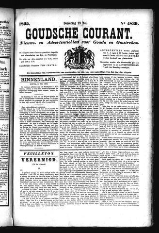 Goudsche Courant 1892-05-19