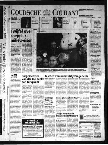 Goudsche Courant 2005-02-24