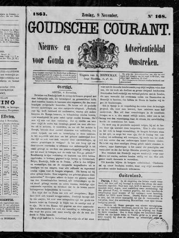 Goudsche Courant 1863-11-08