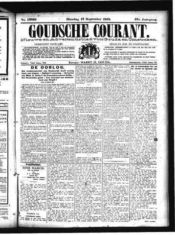 Goudsche Courant 1918-09-17