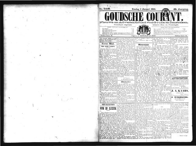 Goudsche Courant 1911-01-01