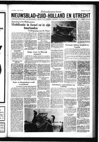 Schoonhovensche Courant 1967-05-22